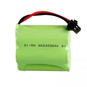 Pile rechargeable NiMH AA2400 6V