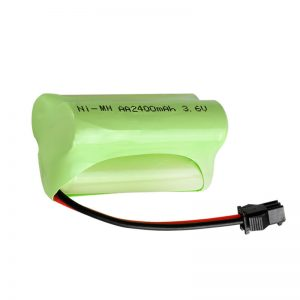 Pile rechargeable NiMH AA2400 3,6 V