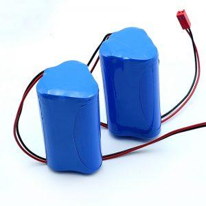 Batterie rechargeable Li-ion 3S1P 18650 10.8v 2250mah au lithium-ion pour dispositif médical
