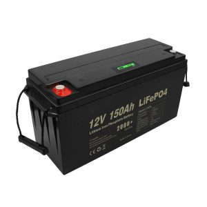 Batterie rechargeable Lifepo4 à cycle profond 12v 150Ah 200Ah 250Ah 300Ah