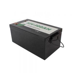 Batterie au lithium 12V 300Ah Lifepo4 de loisirs marins de RV solaire tout-en-un