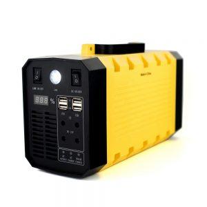 Station d'alimentation portable de la batterie 500W de l'onduleur 12V 30Ah