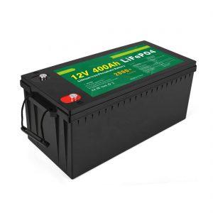 Prix d'usine Batterie solaire LFP à cycle profond 12v 400Ah Batterie solaire LiFePO4