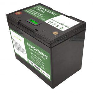 Cellule cylindrique rechargeable 12 volts 70ah pack stockage solaire de batterie au lithium