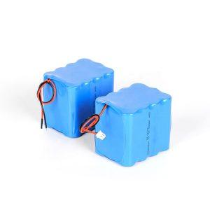 Batterie au lithium rechargeable personnalisée 18650 batterie haute décharge 3s4p 12v li ion