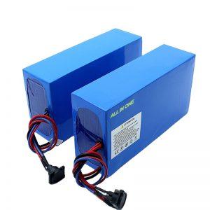 Batterie de vélo électrique tout-en-un cellules 13S7P 18650 48v 20.3ah