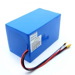Batterie au lithium 18650 48V 51.2AH 24v 30V 60V 15ah 20Ah 50Ah Batteries Li-ion 18650 48V batterie au lithium-ion pour Scooter électrique