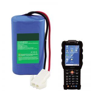 Batterie au lithium 18650 7.2V 2.6Ah pour équipement terminal portatif de logistique express