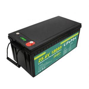 Batterie rechargeable 24v180ah (LiFePO4) pour réverbère solaire