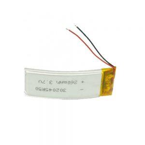 Batterie personnalisée LiPO 302045 3.7V 260mAh