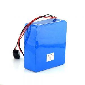 Batterie rechargeable au lithium-ion 48V 15Ah 20Ah Batterie de vélo de scooter électrique de 48 volts