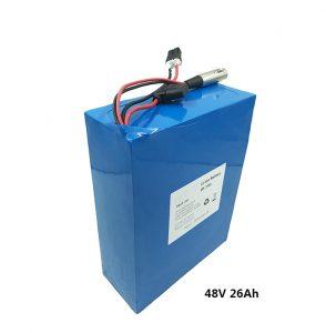 Batterie au lithium 48v26ah pour scooters électriques etwow batterie au graphène de moto électrique fabricants de batteries au lithium 48 volts