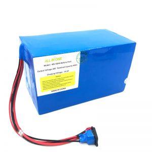 Pack de batterie au lithium 18650 48V 40Ah adapté aux besoins du client pour le vélo électrique, le bateau électrique, le scooter électrique