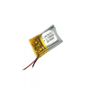 Batterie au lithium polymère de haute qualité 3.7V 50mAh 581013 batterie