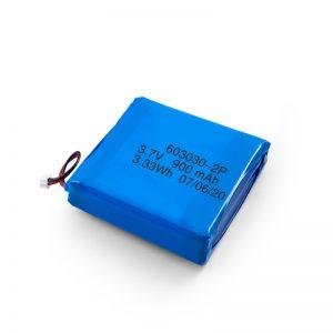 Batterie Li-Po Lipo 3.7V 450530550550700750800 900mAh rechargeable personnalisée