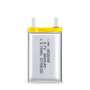 Batterie rechargeable LiPO 603048 3.7V 850mAh / 3.7V 1700mAH / 7.4V 850mAH