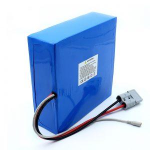 Batterie au lithium de paquet de batterie de Li-Ion de 60 volts 30Ah 50Ah pour le scooter électrique