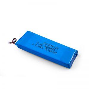Batterie rechargeable LiPO 651648 3.7V 460mAh / 3.7V 920mAH / 7.4V 460mAH