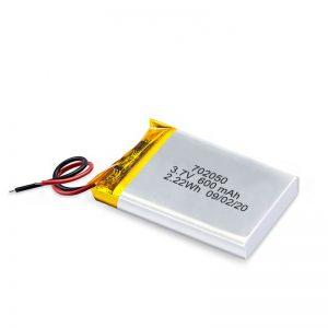 Chine vente en gros 3.7 V 600 mah 650 mah mini li-polymère batterie au Lithium batteries rechargeables pack pour voiture jouet
