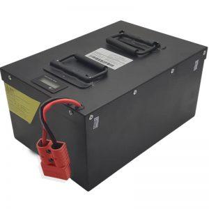 Batterie LiFePO4 72V60Ah haute capacité TOUT EN UN avec BMS intelligent pour véhicules électriques