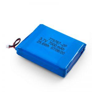 Batterie lipo polymère 3.7V 2450 2600 3900 4000 4500 4700 5000 6000 9000Mah personnalisée