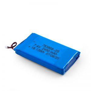 Batterie rechargeable LiPO 783968 3.7V 4900mAH / 7.4V 2450mAH / 3.7V 2450mAH /