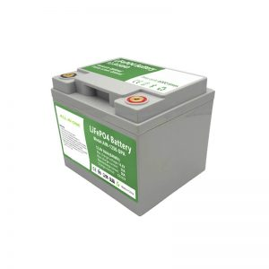 Batterie LiFePO4 tout-en-un 2000 cycles 12V50Ah avec BMS intelligent pour système de stockage d'énergie domestique
