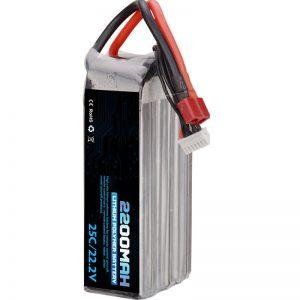 vente chaude batterie au lithium polymère rechargeable 22000 mah 6s lipo