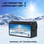 Présentation des batteries lithium fer phosphate TOUT-EN-UN à basse température
