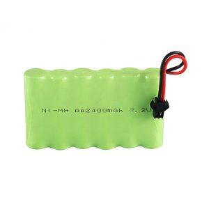 Batterie rechargeable NiMH AA 2400mAh 7.2V