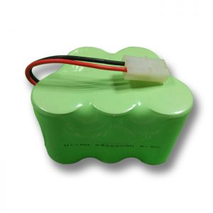 Batterie rechargeable NiMH D9000mAH 6V