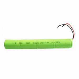 Batterie rechargeable NiMH SC 3600mAH 4.8V