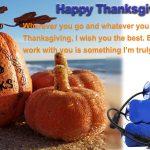Lettre de Thanksgiving de batterie TOUT EN UN aux clients