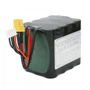 Batterie rechargeable 18650 cellules 3S4P Li-ion batterie 11.1V 10Ah pour lampe à LED solaire