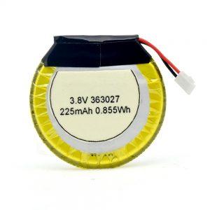 Batterie personnalisée LiPO 363027 3.7V 225mAH