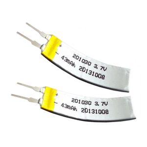 Batterie personnalisée LiPO 3.7V 43mAH