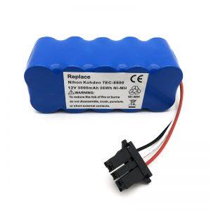 Batterie 12v ni-mh pour aspirateur TEC-5500, TEC-5521, TEC-5531, TEC-7621, TEC-7631